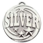 50mm Colour 'SILVER' Medal AM1042